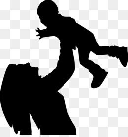 260x280 Free Download Mother Child Silhouette Son
