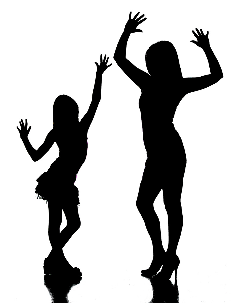 780x1024 Mother And Daughter Silhouette What Started As A Totally
