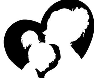 mother silhouette at getdrawings com free for personal use mother rh getdrawings com mother and daughter clipart images mother and daughter clipart free