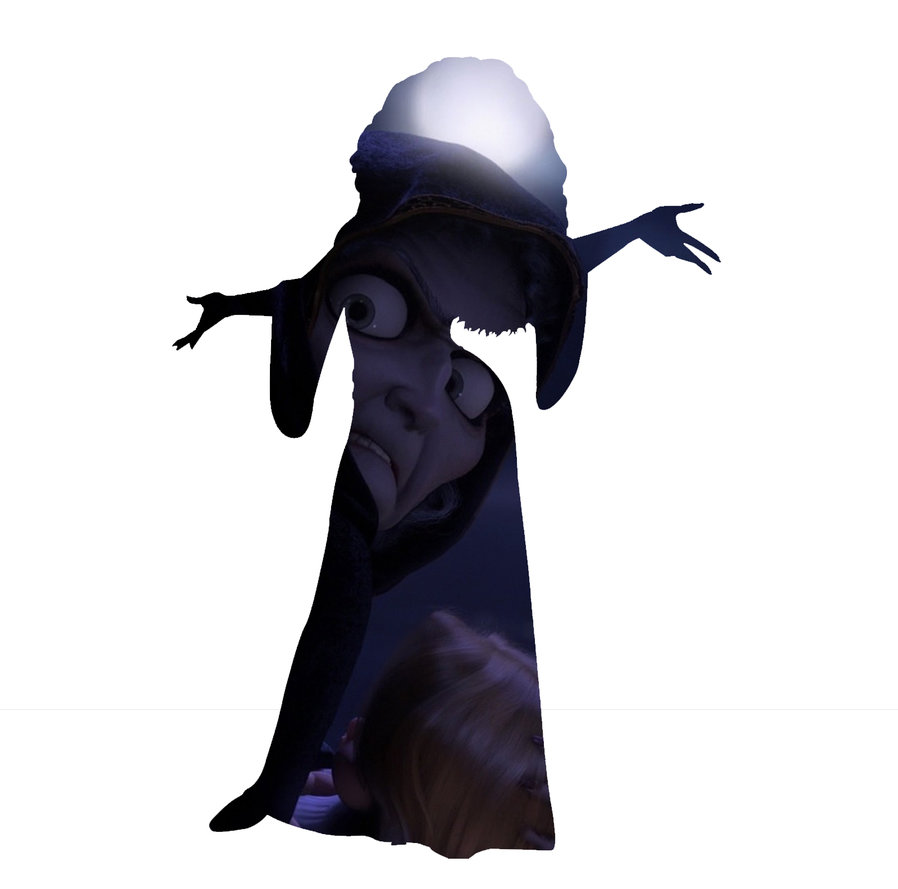898x889 Mother Gothel Silhouette By Cmwatts