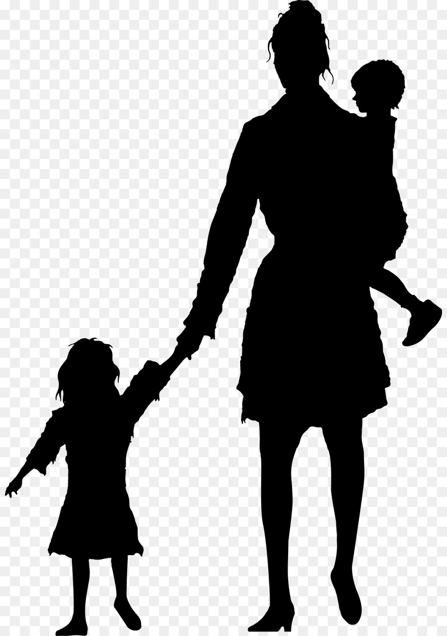 900x1280 Mother Silhouette Child Stock Photography