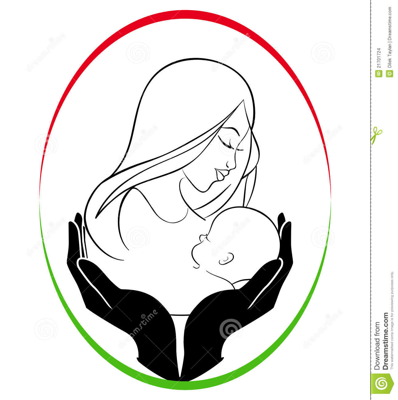 1293x1300 Mother Child Clipart
