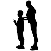 200x200 Silhouette Silhouettes Son Sons Human People Person Person Persons
