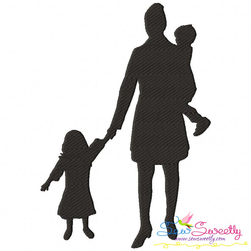 800x800 Mother's Day Silhouette Embroidery Design Bundle For Mother's Day