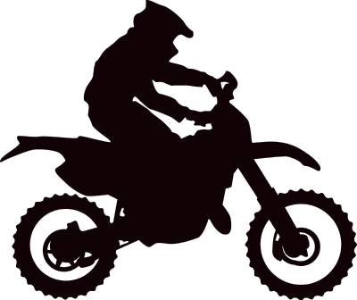 motocross silhouette at getdrawings com free for personal use rh getdrawings com dirt bike clipart black and white dirt bike clipart images
