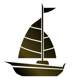 Motor Boat Silhouette