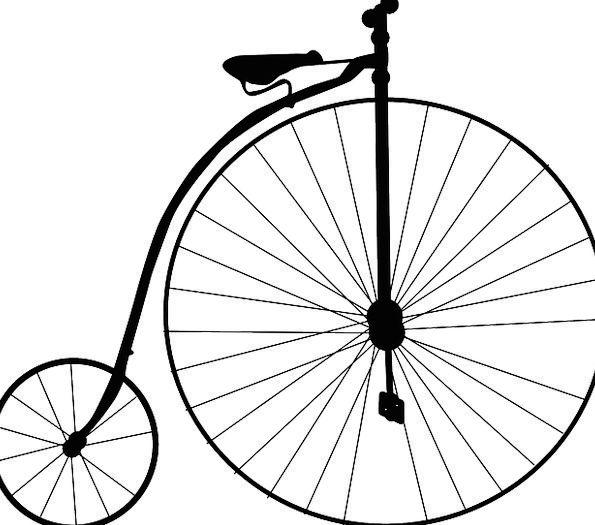 595x525 High Wheel Bicycle, Motorbike, Penny Farthing, Bike, Retro, Period