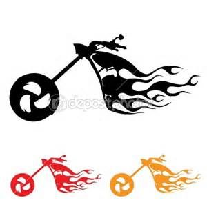 Motorcycle Clip Art Silhouette