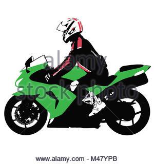 300x320 Biker On Motorcycle Travels