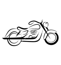 236x248 Motorcycle Silhouette