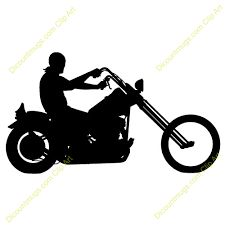 motorcycle silhouette clip art free at getdrawings com free for rh getdrawings com motorcycle clip art free printable free motorbike clipart
