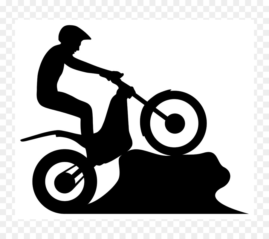 900x800 Motorcycle Trials Vehicle Silhouette Weather Vane
