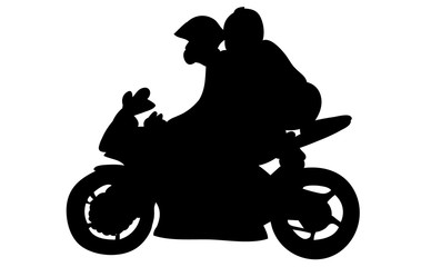 379x240 Motorcycle Man Silhouette Photos, Royalty Free Images, Graphics