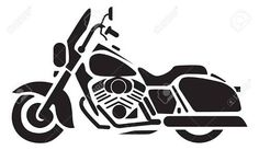 236x137 Pro Harley Motorcycle Silhouette Keramika