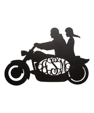 378x454 Biker Clipart Couple