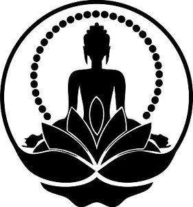 281x300 Buddha,motorhome,surf ,car,van,vinyl Graphics,sticker,decal
