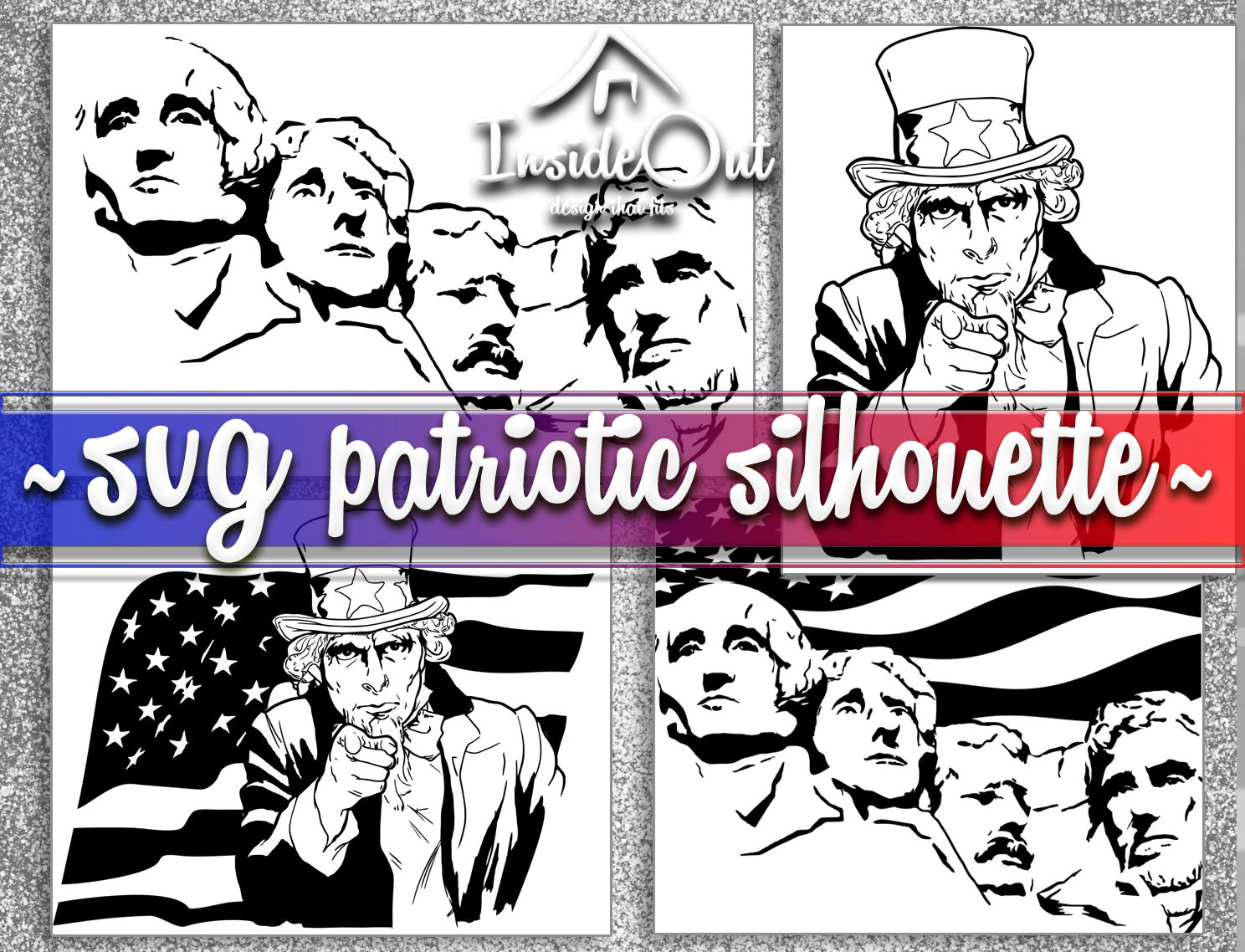 1488x1138 Independence Day Patriotic Silhouette Usa Svg Png Uncle Sam