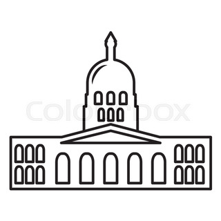 320x320 Famous Landmarks Usa For Travel Design With Thin Line Icons