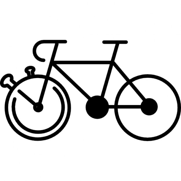 626x626 Mountain Bike Outline Variant Icons Free Download