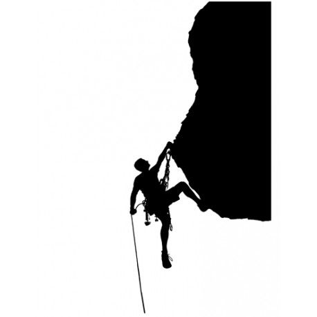 458x458 Mountain Climber Silhouette Awesome Silhouettes