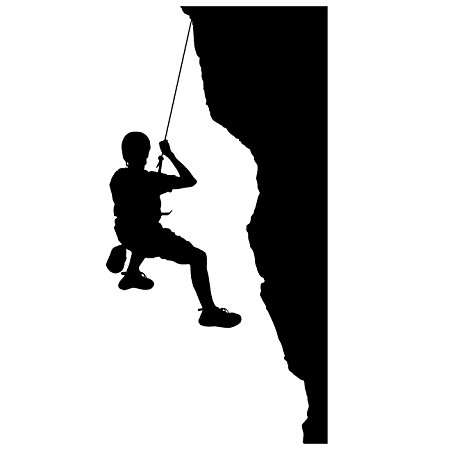 450x450 Rock Climbing Wall Decal Sticker 16