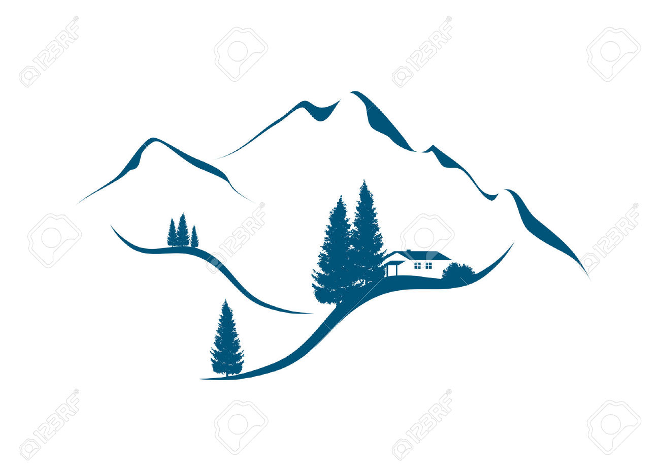 mountain range silhouette vector at getdrawings com free for rh getdrawings com