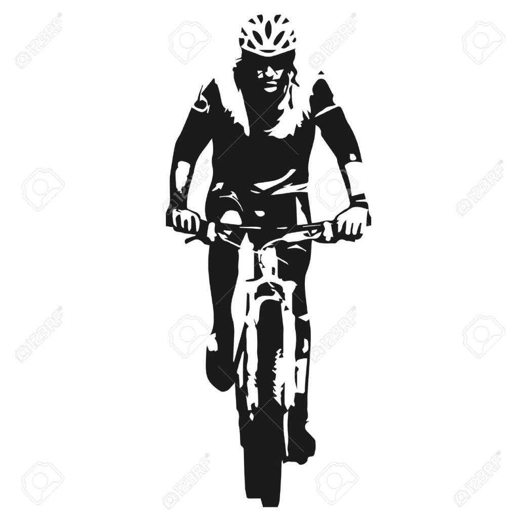 1027x1027 Mountain Bike Clip Art