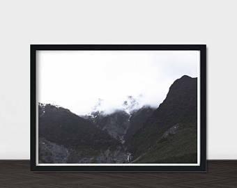 340x270 Mountain Silhouette Etsy