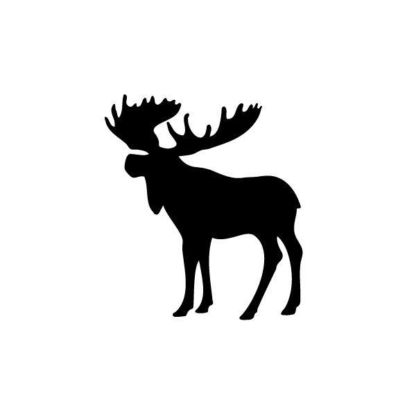 600x600 Moose Silhouette Clip Art