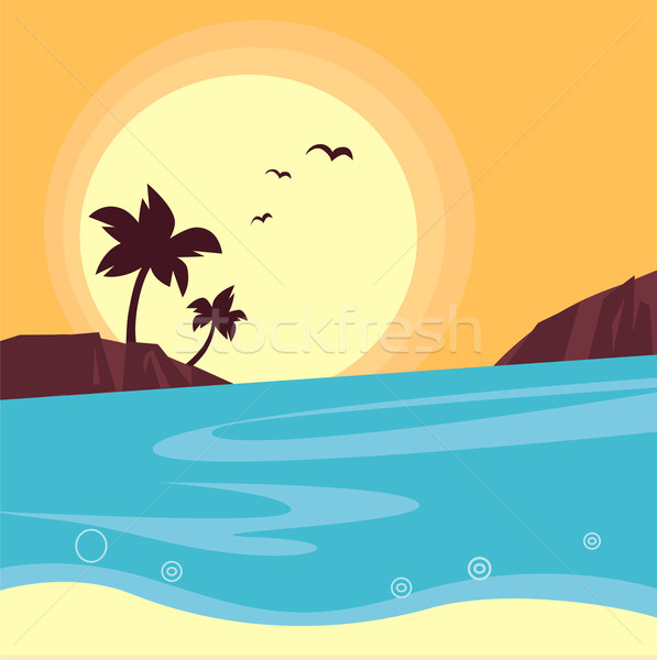 597x600 Landscape Stock Vectors, Illustrations And Cliparts Stockfresh
