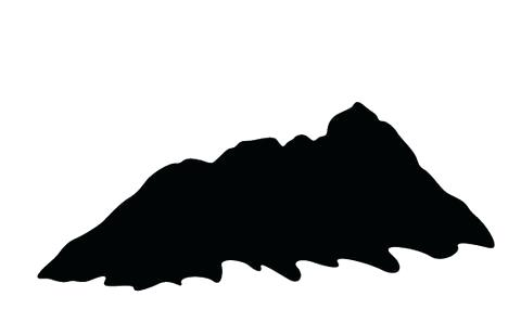 480x309 Mountain Silhouette Mountain Silhouette Vector Mountain Range