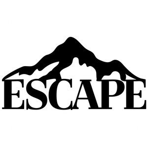 300x300 Escape Mountains Silhouette Design, Silhouettes And Store
