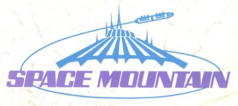 812x362 Space Mountain Space Mountain, Scrapbooks And Scrapbook