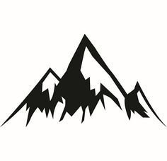mountain silhouette vector at getdrawings com free for personal rh getdrawings com clipart of mountains and trees clip art of mountain scenes