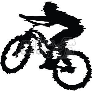 300x300 Royalty Free Mountain Biker 384573 Vector Clip Art Image