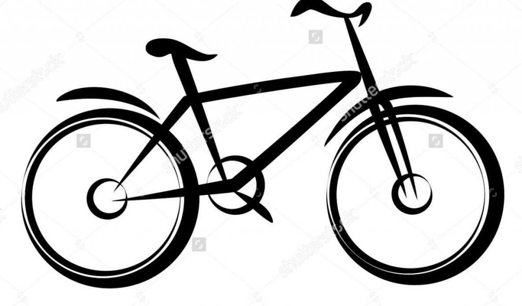 1024x600 Mountain Bike Silhouette Vector Free Download For Commercial Use