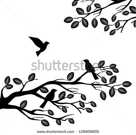 450x445 Tree Leaves Silhouette Vector Eps Free Couple Silhouette Sitting
