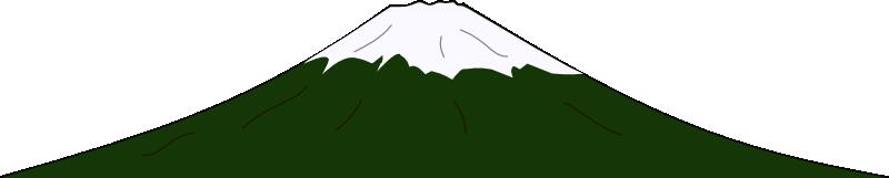 800x161 Mountain Range Silhouette Clip Art
