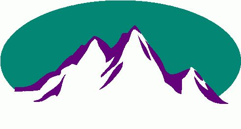 490x262 Marvellous Inspiration Mountains Clipart Silhouette Clip Art Panda