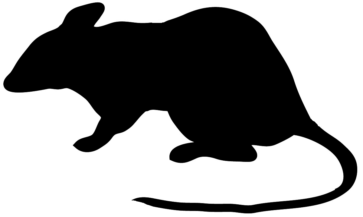 1200x720 Mouse Silhouette Clipart