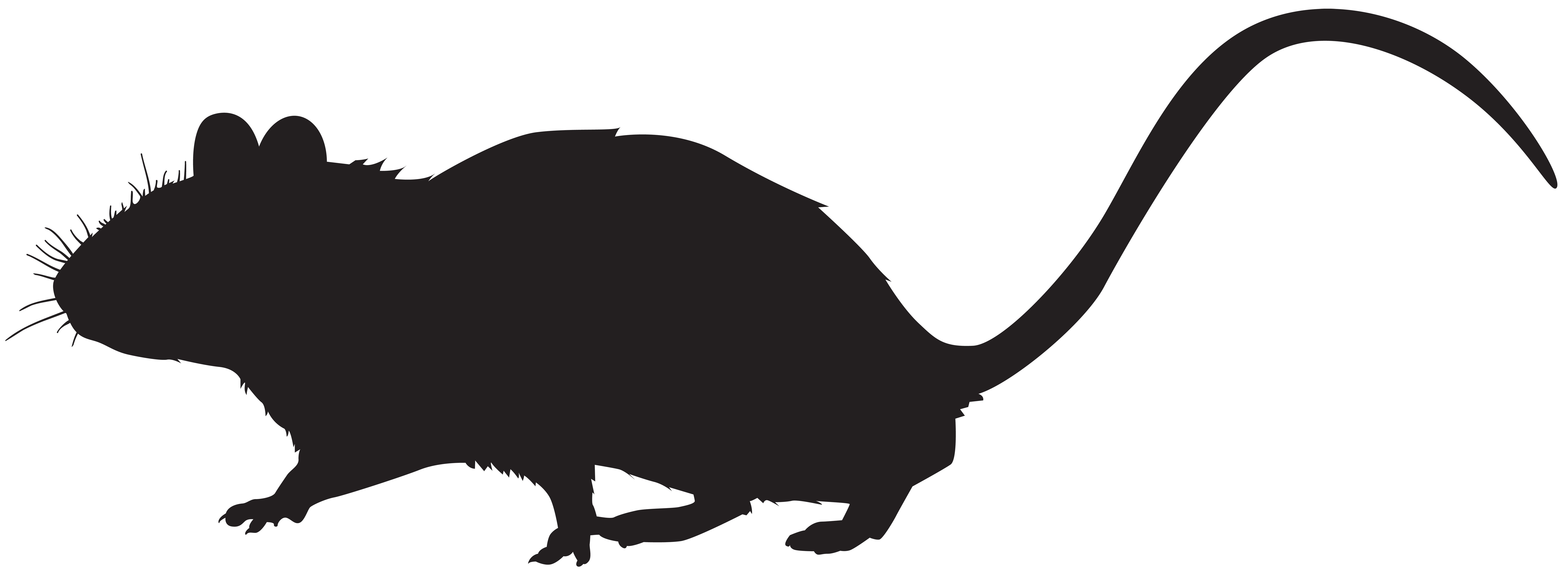 8000x2918 Mouse Silhouette Png Clip Art Imageu200b Gallery Yopriceville