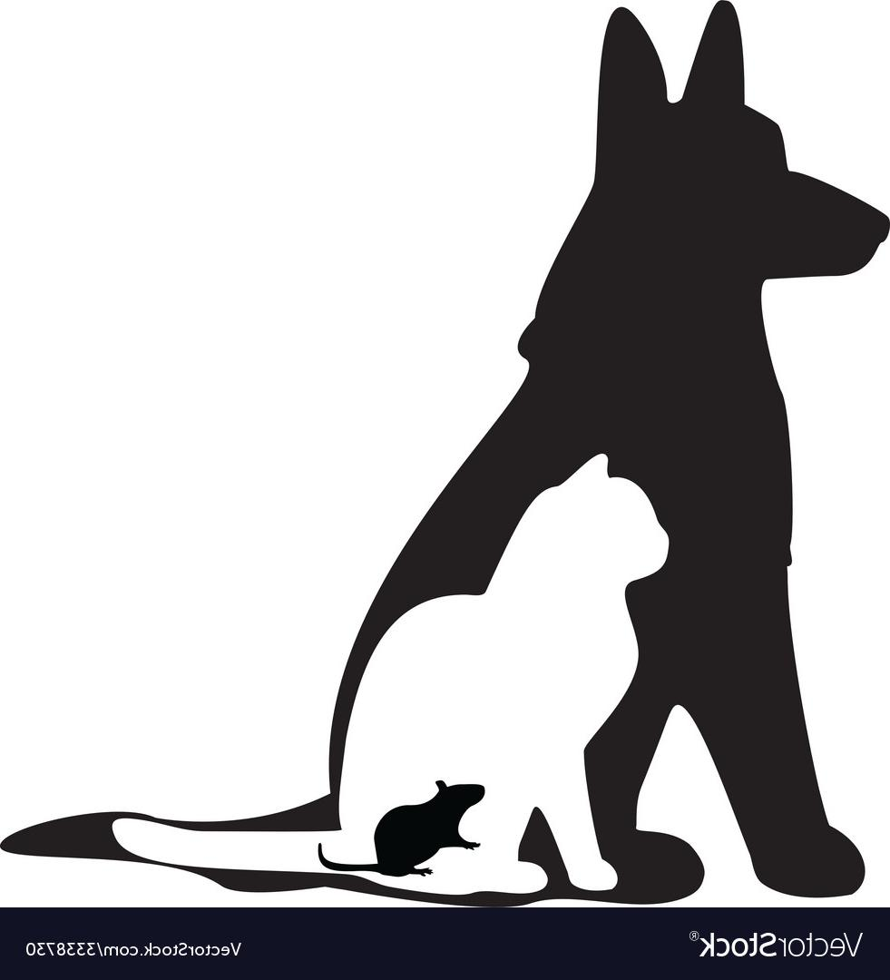 981x1080 Best 15 Mouse Cat Dog Silhouette Vector Cdr