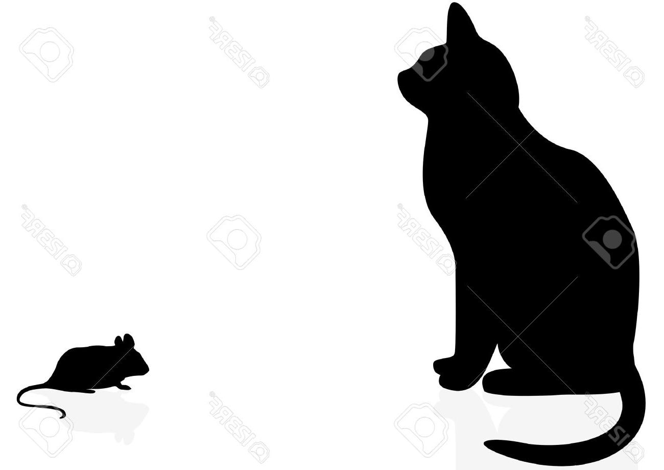 1300x919 Top Cat And Mouse Silhouette Cdr