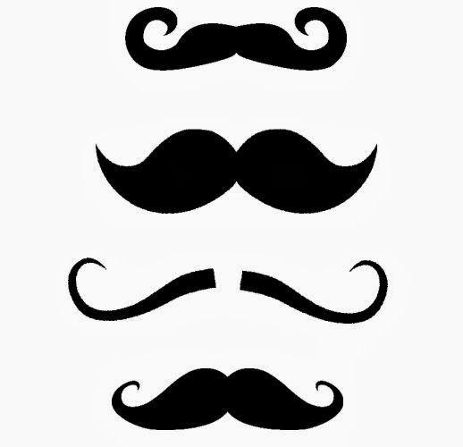518x500 Mustache Free Svg