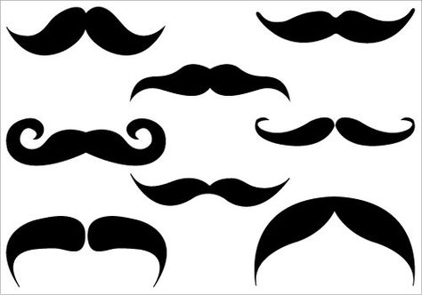 moustache silhouette at getdrawings com free for personal use rh getdrawings com  free moustache clipart