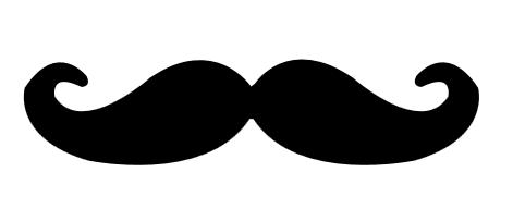 471x203 Svg File Mustache Silhouette Beaoriginal