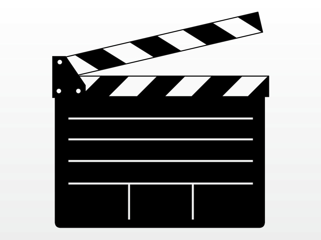 1024x765 Hollywood Film Clipart