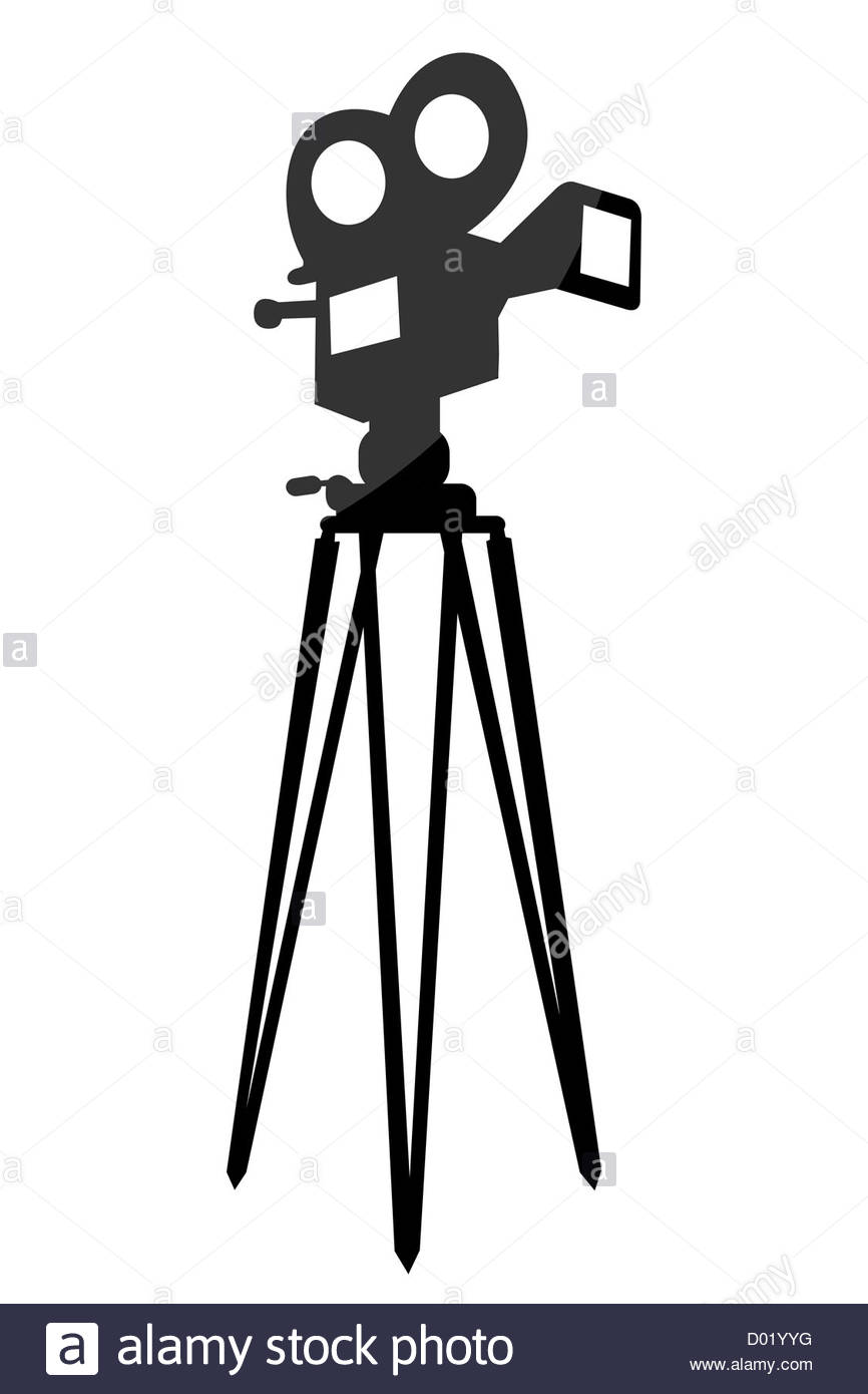 866x1390 Movie Camera Cut Out Stock Images Amp Pictures