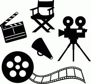Movie Reel Silhouette
