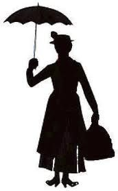 172x278 Mary Poppins Silhouette